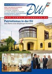 Patriotismus in der EU - Német-diplomások Egyesülete