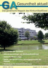 Geriatrisches Magazin