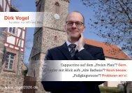 Flyer – Fußgängerzone am Freien Platz - Dirk Vogel