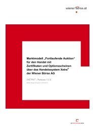 """Marktmodell """"Fortlaufende Auktion für den Handel ... - Wiener Börse"""