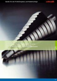 Geräte für den Freileitungsbau und Kabelmontage