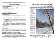 Feber 2013 - St. Peter im Sulmtal