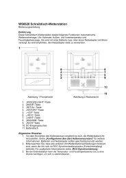 Bedienungsanleitung - Technoline