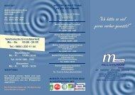 Folder MPT Graz - Koordination Palliativbetreuung Steiermark