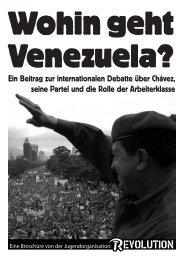Ein Beitrag zur internationalen Debatte über Chávez, seine Partei ...