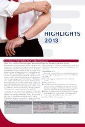 Unsere Highlights 2013 - Academy of Finance Bonn