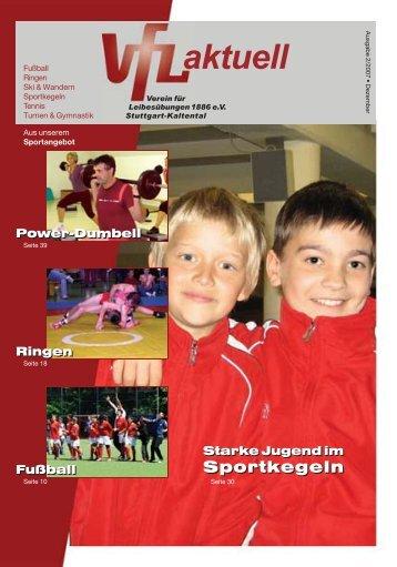Ausgabe 2/2007 - VfL Kaltental