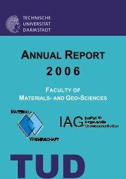 Electronic Material Properties - MaWi - Technische Universität ...