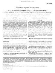 Íleo biliar: reporte de tres casos - edigraphic.com