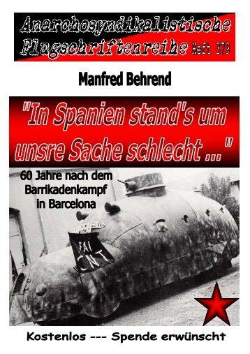 379 Behrend, Manfred - In Spanien stand's um unsre Sache ...