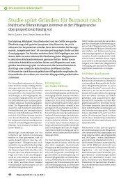 2011 zander Pflegezeitschrift Burnout (PDF, 244,0 KB) - Fachgebiet ...