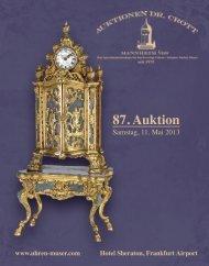 87. Auktion - Auktionen Dr. Crott