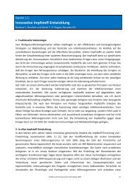 Innovative Impfstoff-Entwicklung - Pharmazie-Lehrbuch