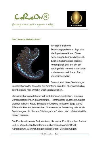 Astrale Nabelschnur - Renate Hechenberger