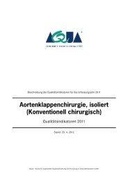 Indikatorenbeschreibung 2011 - SQG