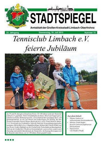 Stadtspiegel 15-13.pdf - Stadt Limbach-Oberfrohna