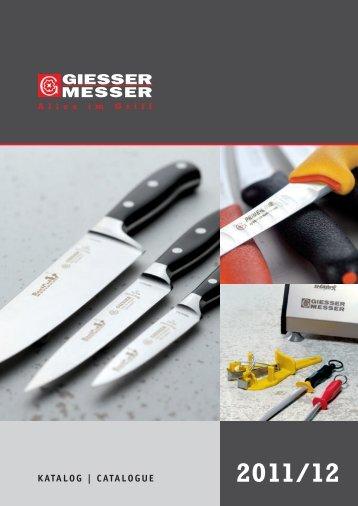 GIESSER Messer - SICK Hermann Werksvertretungen