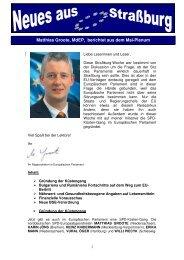 Ausgabe 2006-5 - Matthias Groote