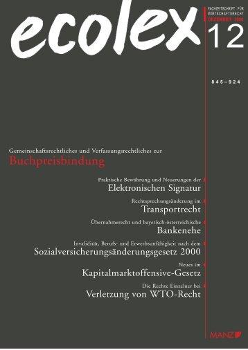 Buchpreisbindung - ARNOLD Rechtsanwälte GmbH