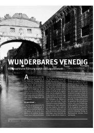 WUNDERBARES VENEDIG - Abenteuer Philosophie