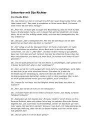 Interview zu Buch-Ilja Richter - Ilja Richter | Schauspieler und Autor