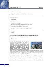 AGA-Report Nr. 151 - AGA-Portal