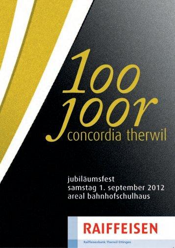 Unterhaltungsprogramm - Musikgesellschaft Concordia Therwil