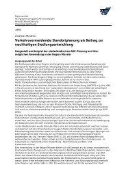 Die Anwendungsmöglichkeiten der niederländischen ABC-Planung ...