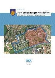 Rahmenplanfortschreibung Allendorf 2009 - Wettbewerb