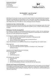 Leitfaden für die Angehörigen (pdf) - Gemeinde Neftenbach