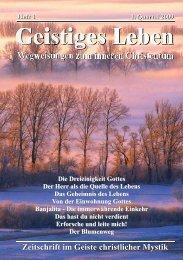 Die Dreieinigkeit Gottes Der Herr als die Quelle des Lebens Das ...