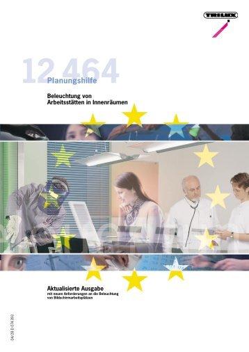 Beleuchtung von Arbeitsstätten in Innenräumen - OO Tech GmbH