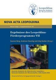 Volltextversion - Leopoldina