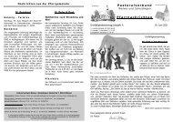 19. Juni bis 26. Juni 2011 - Pastoralverbund Welver-Scheidingen