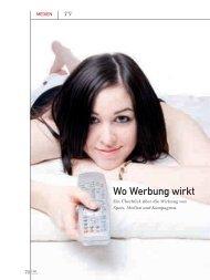 Wo Werbung wirkt (PDF) 2/2008 - marke41