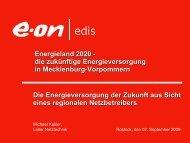 Energieversorgung durch regionale Netzbetreiber E.ON ... - Vdi-mv.de