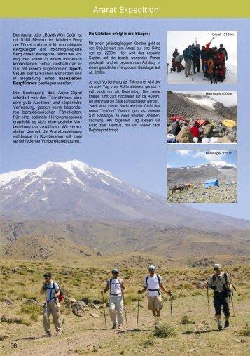 Ararat Expedition - Seb Tours