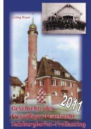 Jahresbericht 2011 - Feuerwehr Freilassing