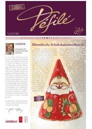 Défilé – Ausgabe Herbst 2012 - la fleur du chocolat