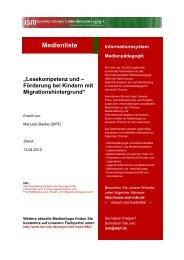 Förderung bei Kindern mit Migrationshintergrund - Bildung schadet ...