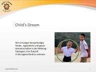 Unsere Präsentation - Child's Dream