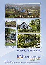 Geschäftsbericht 2005 - Raiffeisenbank eG Simmerath