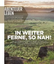 IN WEITER FERNE, SO NAH! - Michael Poliza Photography