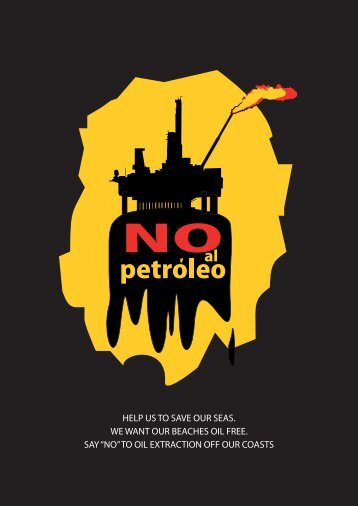 to oil extraction off our coasts - Canarias dice NO A REPSOL