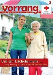 Vorrang, Ausgabe 3/2012 - Österreichisches Rotes Kreuz