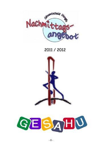 Broschüre 2011-12 inkl. Deckblatt 1.2 - GesaHu