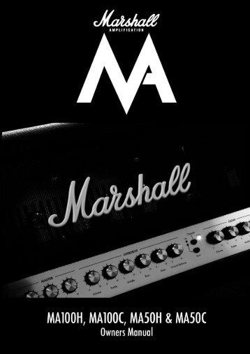 Bedienungsanleitung - Marshall