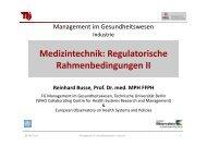 Regulatorische Rahmenbedingungen II (PDF, 1,7 MB) - Fachgebiet ...