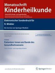 R. Winkler - Politische Kindermedizin