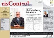 risControl !ONLine! Nr. 24 vom 11.04.2008